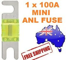 1 x 100AMP Mini ANL Fuse for Car Amplifier Wiring Kit Fuse Holders 100A Midi AFC