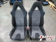JDM 04-08 MAZDA RX-8 RX8 OEM Front Cloth Seats & Rails Black/ Grey,  2004-2008