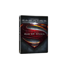 Man Of Steel Steelbook(Blu-ray + DVD + Digital HD UltraViolet) NEW!!