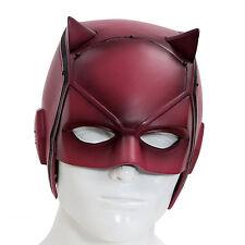 New Dare Devil Mask Matt Murdock Cosplay Halloween Helmet Red PVC for Sale