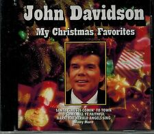 JOHN DAVIDSON - MY CHRISTMAS FAVORITES - NEW SEALED CD
