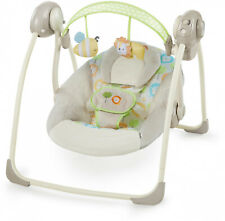 Ingenuity Soothe n Delight Portable Swing - Sunny Snuggles