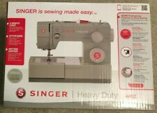 BRAND NEW IN HAND SINGER HEAVY DUTY 4452 SEWING MACHINE W/32 BUILT-IN STITCHES