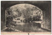 CPA 72 - SAINT LEONARD DES BOIS (Sarthe) - 144. La Sarthe sous le vieux Pont et