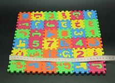 36 Pcs Islamic Educational Mat Puzzle Kid Toy Arabic Quran letter number Smart