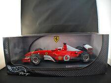 Hot Wheels n° 54627 ferrari F1 2002 Rubens Barrichello neuf 1/18 en boite MIB