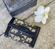 Authentic Dior Blue Trotter Key Ring Holder Accessory Unisex 🌺