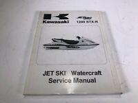 Kawasaki OEM JetSki 1200 STX-R Watercraft Manual, '02 JT1200-A1 - 99924-1287-01