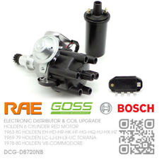 RAE ELEC DISTRIBUTOR, BOSCH MODULE & COIL 6-CYL 202 RED [HOLDEN VB COMMODORE]