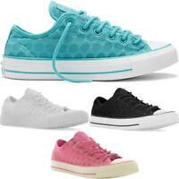 Womens Ladies Mens All Star Converse Mesh Ox Boys Girls Juniors Trainers Shoes