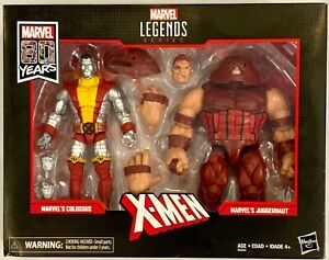 Marvel Legends Series X-Men Marvel's Colossus Juggernaut 80 Years