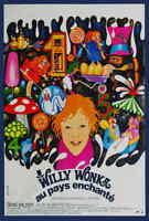 Willy Wonka & the Chocolate Factory (1971) FR (B) Gene Wilder Movie Poster 27x40