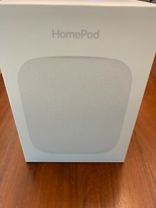Apple HomePod Voice Enabled Smart Assistant - White speaker iOS MacOS
