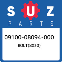 09100-08094-000 Suzuki Bolt(8x30) 0910008094000, New Genuine OEM Part