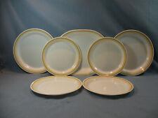 Corelle Almond, 7 Pieces, Serving Platter And 6 Plates
