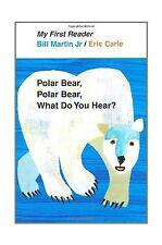 Polar Bear Polar Bear What Do You Hear? My First Reader Free Shipping