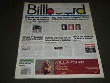 2001 JULY 7 BILLBOARD MAGAZINE - GREAT MUSIC ISSUE & VERY NICE ADS - K 611