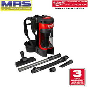 MILWAUKEE M18FBPV-0 BACK PACK VACUUM CLEANER - NO BATTERIES - 4933464483