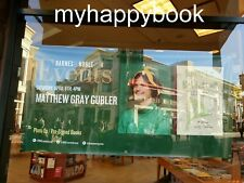 SIGNED by Matthew Gray Gubler book Rumple Buttercup, autographed, new