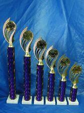 Budget Set x 6 Dance Sport Equestrian Martial Arts Trophies Award FREE Engraving
