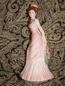 Coalport Ladies of Fashion China Figurine-Zara Pristine in Box
