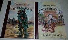 GRANDS DOSSIERS L'ILLUSTRATION LA GRANDE GUERRE 1914-1918 TOME 1&2 POILUS VERDUN