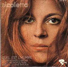 NICOLETTA QUEL EST L'HOMME FRENCH ORIG EP JEAN BOUCHETY / RAYMOND DONNEZ