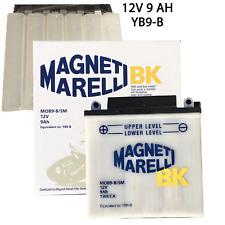 Magneti Marelli MOB9-B/SM Batteria Moto 9Ah - Bianca
