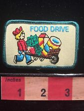 Scout FOOD DRIVE Patch ~ Healthy Broccoli Milk Oatmeal (I Think)  66E0
