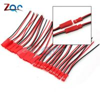 10 Pairs 100mm 10cm Male Female Connector JST Plug Cable RC BEC Battery Heli b49