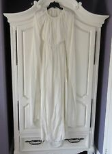 NWT Rachel Zoe Henrietta in Ecru Silk Chiffon Cape Back Grecian Gown 2 $795