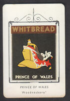 Whitbread - Inn Signs 3rd Card 1952 - # 27 Prince Of Wales - Woodnesborough