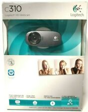 Logitech C310 HD Web Cam 720p 5MP Video with Lighting Correction