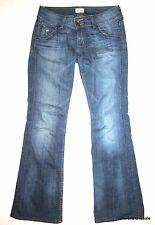 HUDSON JEANS $192 Womens 27 x 30 Signature BOOTCUT Felix Button Flap Logo Pocket