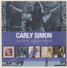 Carly Simon ORIGINAL ALBUM SERIES Box Set NO SECRETS Anticipation NEW 5 CD