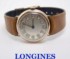 Vintage 14k Mens LONGINES 15J Winding Watch Cal 12.91 c.1918* EXLNT* SERVICED