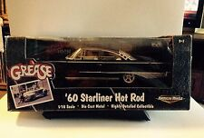 "1:18 ertl 1960 ford Starliner hot rod by ertl Black-Movie ""Grease-rareza"