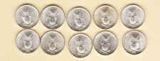 US Philippines 1945-D TEN Centavos ( 10 cent ) X 10 coin all Uncirculated/BU