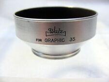 Vintage Graphic 35 Metal  Lens Hood   Screw-in   28.2mm   Used   $13  