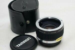 Tamron SP F System 2x Teleconverter For Olympus OM BBAR MC 7 *Mint*