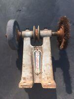 MILLERS FALLS TOOL POST GRINDER Antique Vintage Belt Driven Tool Farm #205