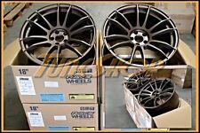 RAYS VOLK GRAMLIGHTS 57XTREME 18x9.5 +40 5x100 FRS BRZ WRX WHEELS MATT BRONZE