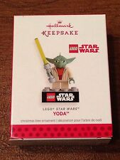 Hallmark 2013 Ornament -Yoda - LEGO. Star Wars