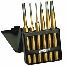 Brüder Mannesmann 6 Piece Pin Punch Set Steel Taper Awls Hand Tools 65410