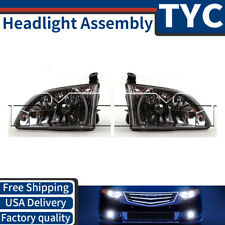 TYC 2X Left + Right Headlight lamp Assembly Kit Set For 2001-2003 Toyota Sienna