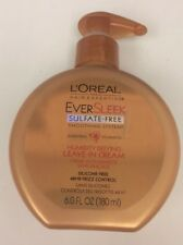 (1) L'Oréal EverSleek Sulfate-Free Smoothing System Humidity Defying Leave 6 oz