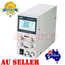 Adjustable Variable Power Supply Switching Mode 30V 10A Fan cooling 240V LCD AU