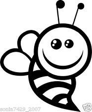 CUTE BUMBLEBEE Vinyl Decal Sticker Animal Bee Car Truck Funny