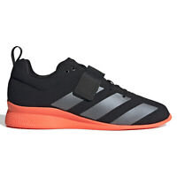 ADIDAS ADIPOWER WEIGHTLIFTING 2 Mens Powerlift Shoes - Black Orange - PICK SIZE