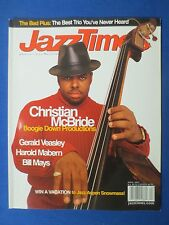 JAZZ TIMES MAGAZINE APRIL 2003 CHRISTIAN MCBRIDE BILL MAYS HAROLD MABERN